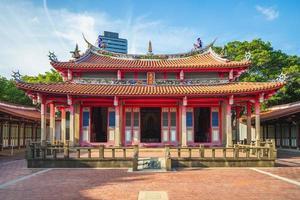 Temple de Confucius à Hsinchu, Taïwan photo