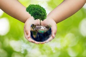 concept de la journée mondiale de l'environnement photo