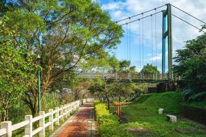 parc riverain de keelung nuannuan dans le canton de nuannuan, taïwan photo