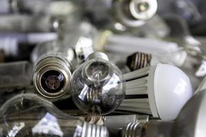 conteneur de lumière d'ampoule photo