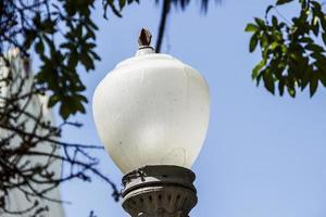lampadaire vintage photo