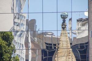 détails des fenêtres de construction photo