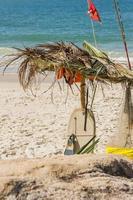détail d'une plage brésilienne photo