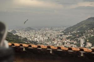 Détails de catrambi favela à rio de janeiro - brésil photo