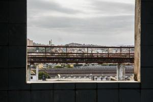 Détails de la colline de pinto à rio de janeiro - brésil photo