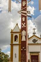 détails de la ville de tiradentes au brésil photo