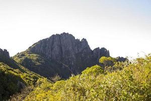 vue sur le sentier des marins x itaguare dans le massif de la mantiqueira photo