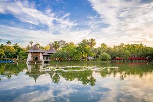Pavillon de taichung dans le parc zhongshan à taichung, taiwan photo