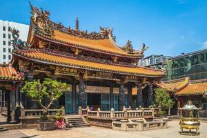 temple lungshan de manka, construit à taipei en 1738, taiwan photo