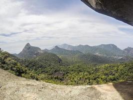voir la piste de kite serrilha à rio de janeiro photo