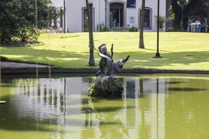 jardins du palais du cathéter à rio de janeiro photo