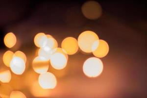 arrière-plan flou lumières photo