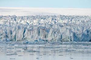 Paysage arctique du Svalbard Spitzberg photo