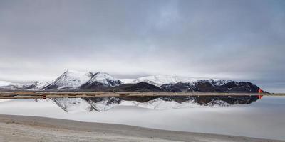 près du pôle nord, vous trouverez ce magnifique paysage au svalbard au Spitzberg photo
