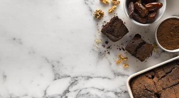 l'arrangement délicieux cacao recette saine photo