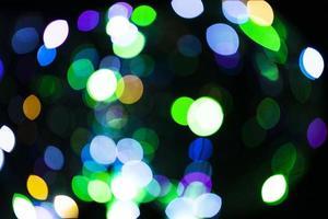les ballons de composition avec une lumière sombre photo