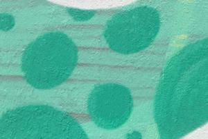 le fond du mur peint en vert photo