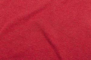 fond de texture de tissu rouge photo