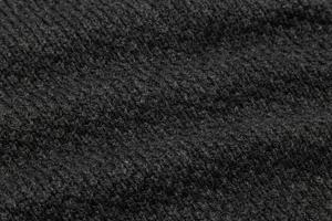 fond de texture de tissu noir photo