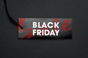 concept de vente du vendredi noir photo