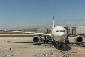 avion à l'aéroport du cap en afrique outh photo