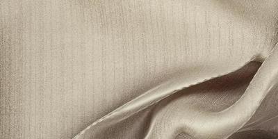 tissu d'organza de rideau de vague de texture de soie beige clair illustration 3d photo