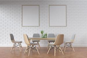 chambre intérieure moderne photo
