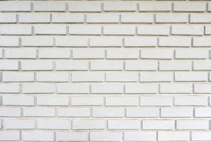 mur de briques blanches de texture altérée photo