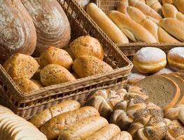 assortiment de produits de boulangerie photo