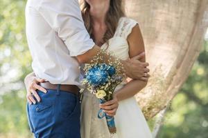 bouquet de mariée mariage photo