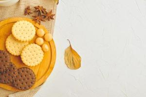 biscuits sur la table. photo