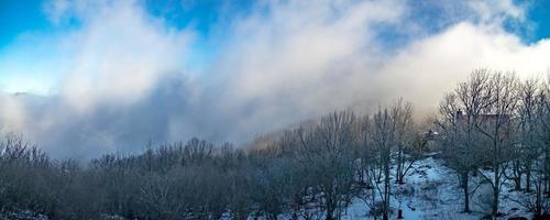 vues panoramiques à banner elk caroline du nord près de boone nc photo