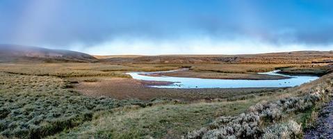 vallée de Hayden, parc national de Yellowstone photo