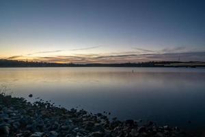 lac de l'île de montagne près du lac normand en caroline du nord photo