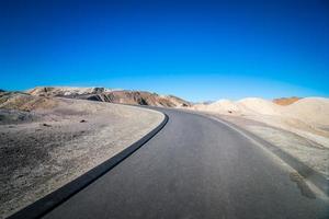 randonnée dans le parc national de la vallée de la mort en californie photo
