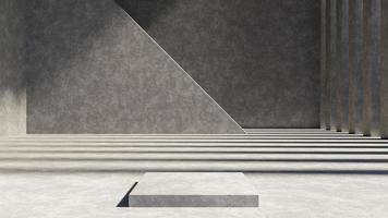 arrière-plan abstrait, scène de maquette pour l'affichage du produit photo