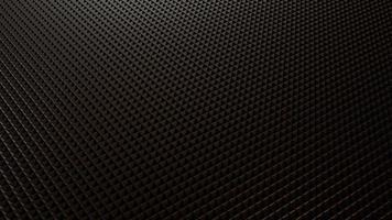 Rendu 3D de fond noir triangulaire moderne photo