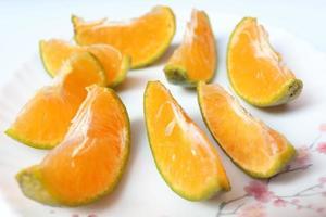 bouillon de mandarines savoureux et sain photo