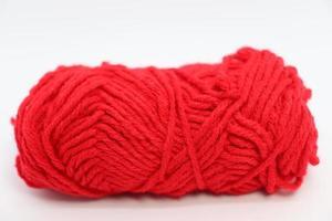gros plan de fil de couleur rouge à vendre photo