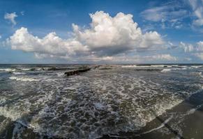 Scènes de plage à l'île de chasse en Caroline du Sud photo