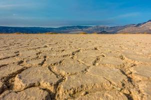 beau paysage dans le parc national de la vallée de la mort, californie photo
