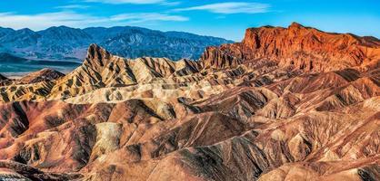 parc national de la vallée de la mort en californie photo