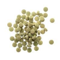 comprimés de médecine d'extrait de fines herbes pilules avec des capsules et de la poudre ou fa thalai chon photo