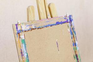 toile et support pour toiles de peinture photo