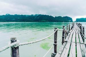 Talet Bay à Khanom, Nakhon Sri Thammarat, Thaïlande photo