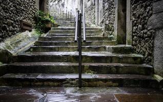escalier ancien en pierre photo