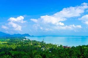 Point de vue de naern thae wada à nakhon si thammarat, thaïlande photo