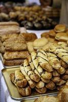 petits pains fourrés au chocolat photo