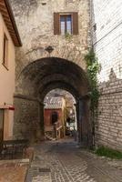 Bâtiments à Narni, Italie, 2020 photo