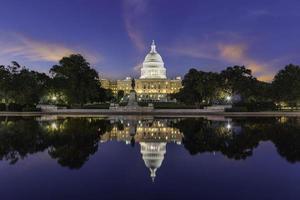 le bâtiment du capitole des états-unis photo